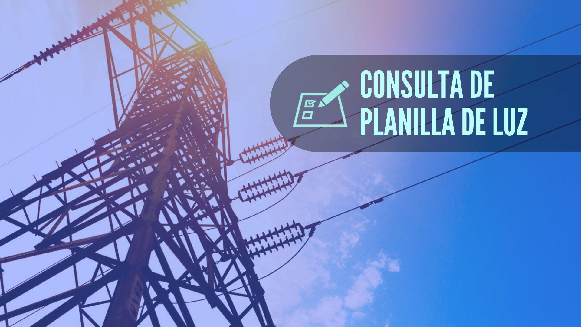 Empresa eléctrica consulta de planillas 1