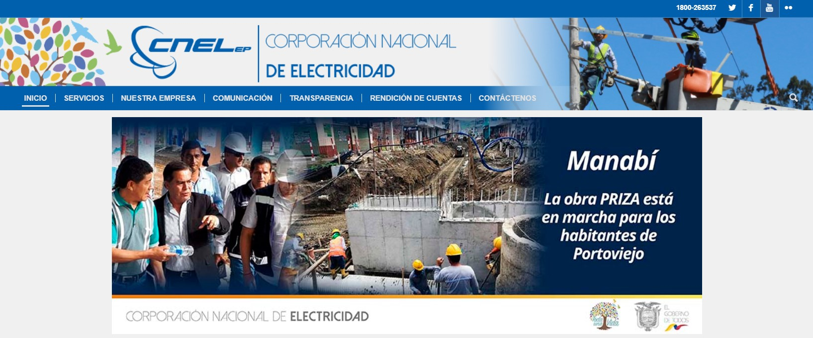 Planilla CNEL Manabí Ecuador