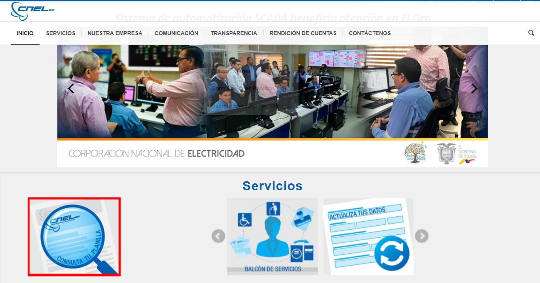 Consultar Planilla CNEL en Santo Domingo